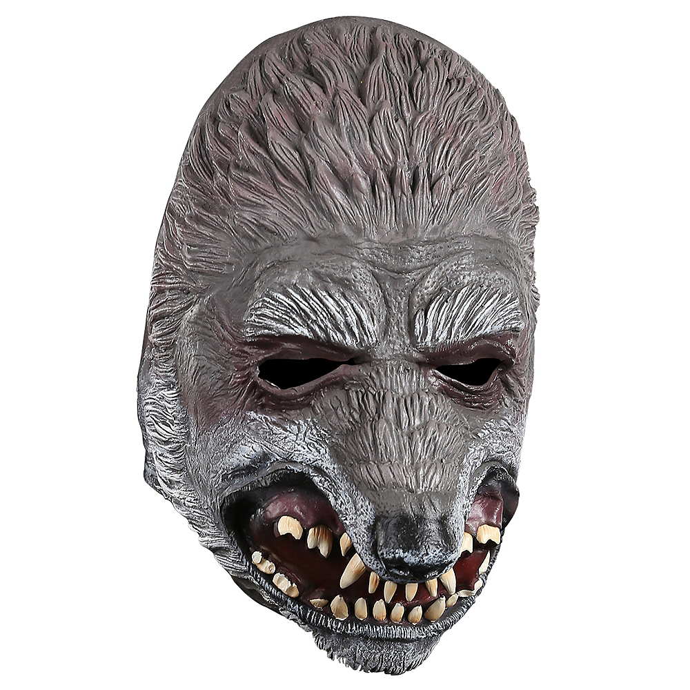Hooded Wolf & Granny Mask - Little Red Riding Hood Image #2
