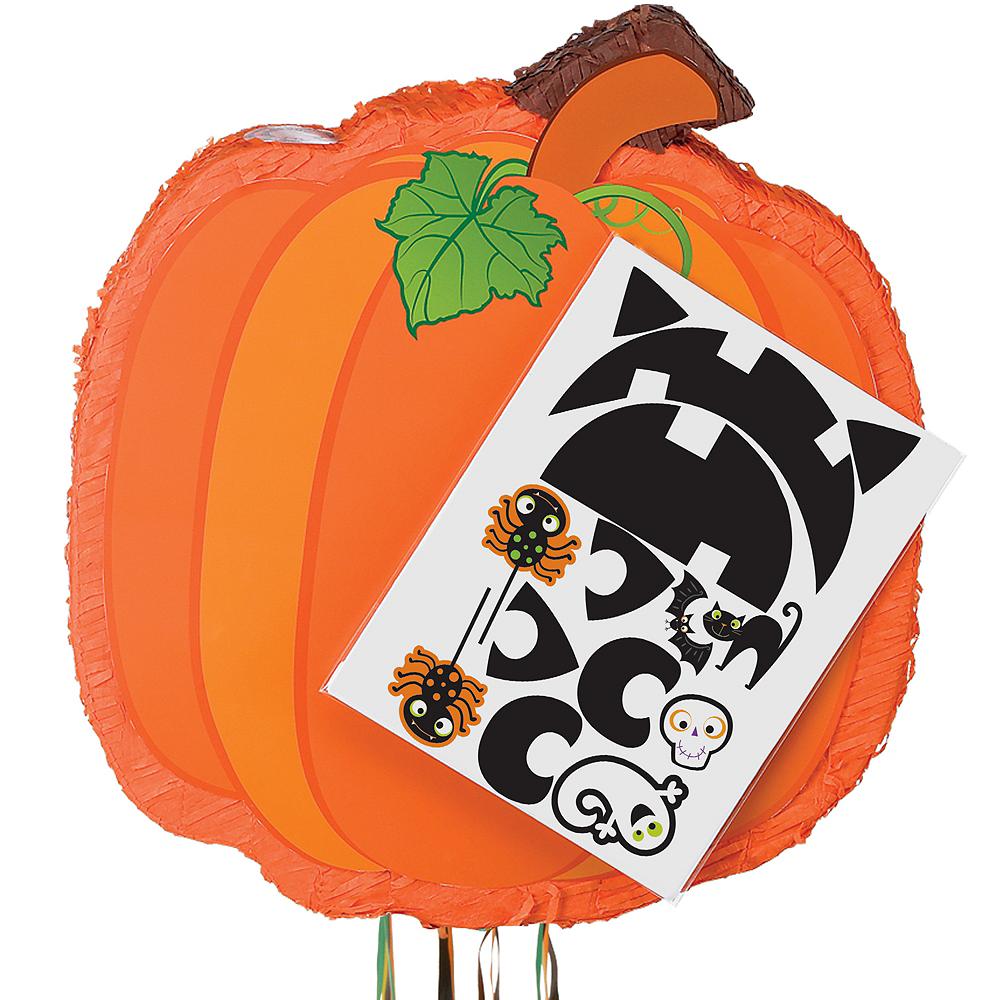 Pull String Jack-o'-Lantern Personalized Pinata Image #1