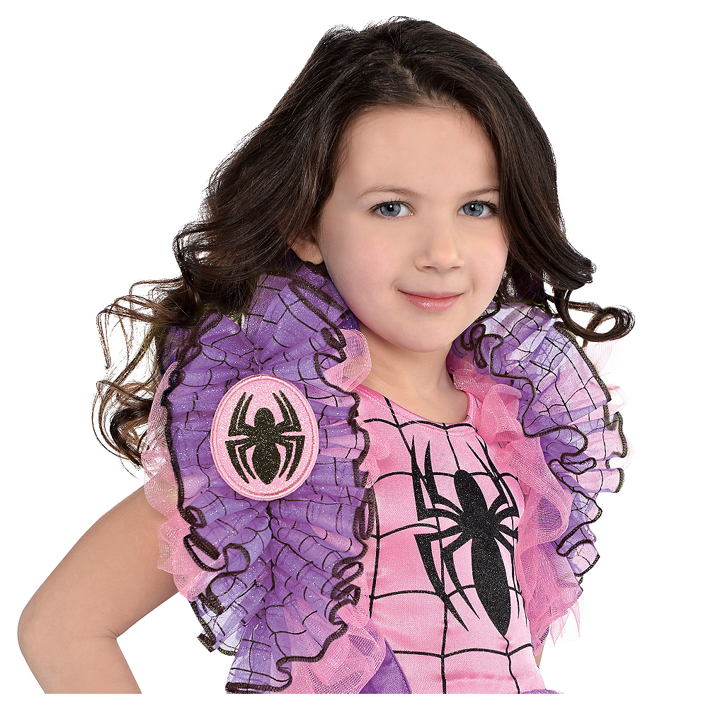Nav Item for Child Spider-Girl Shrug Image #1