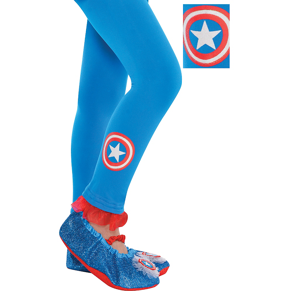 Child American Dream Footless Tights Image #1