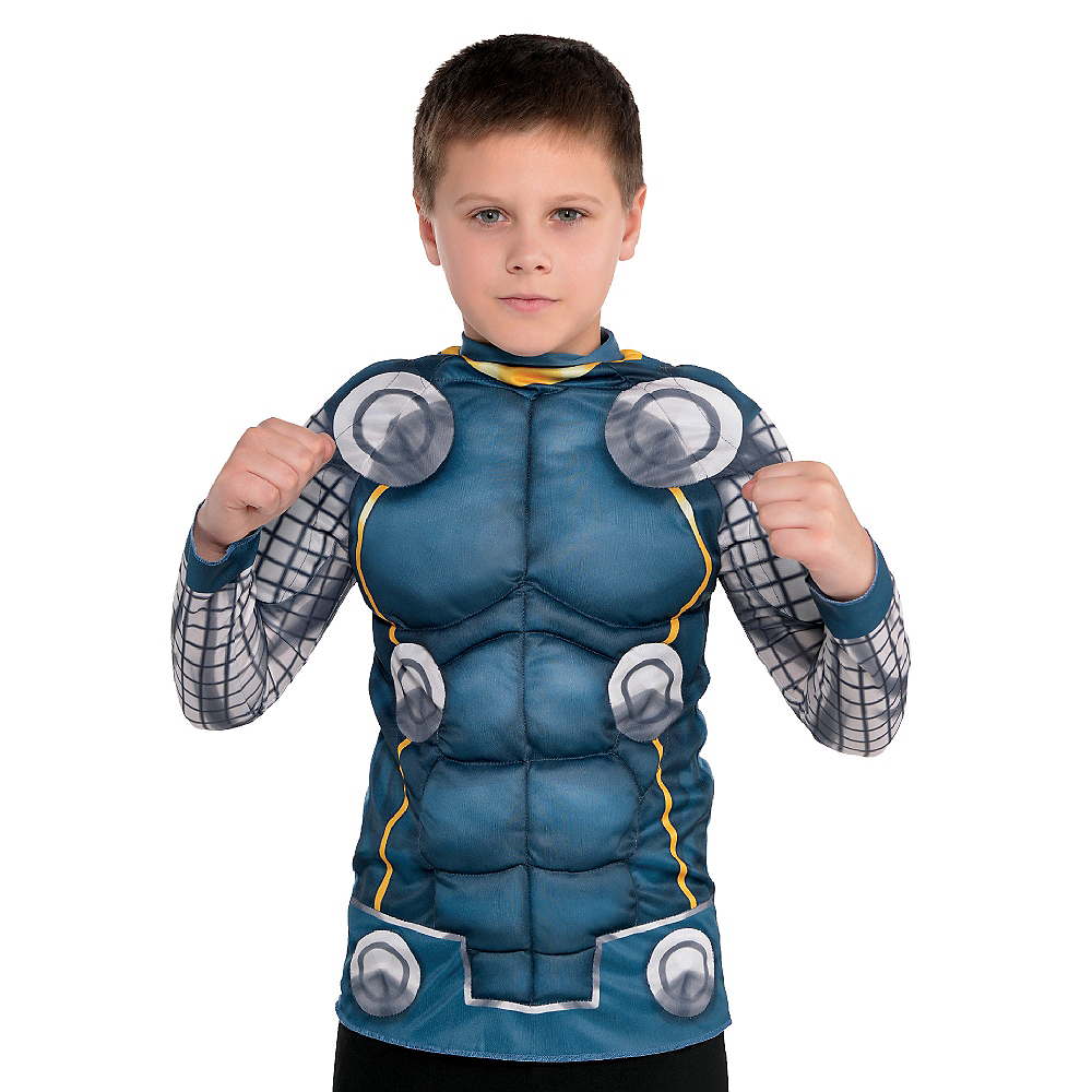 Child Thor Muscle Shirt Image #2