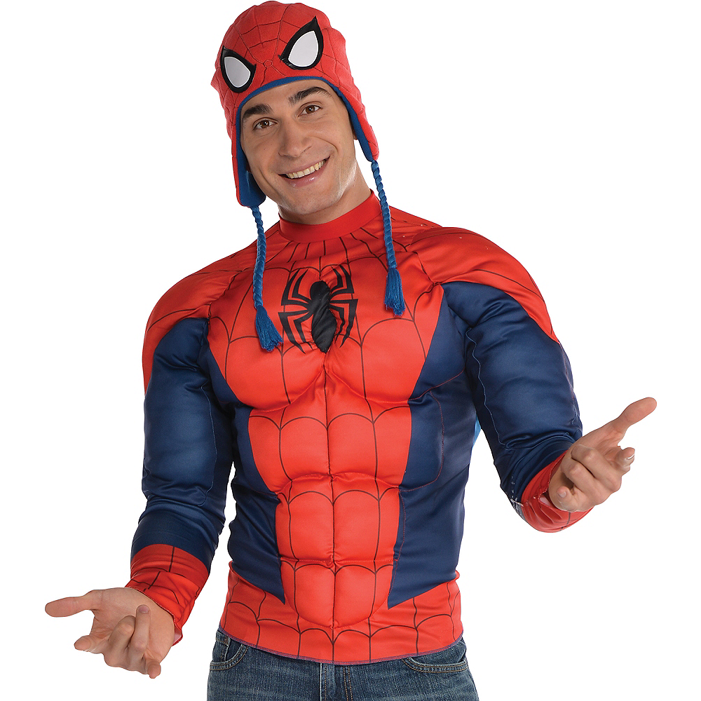 Spider-Man Muscle Shirt Image #1