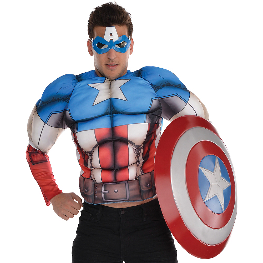 Captain America Muscle Shirt Image #1