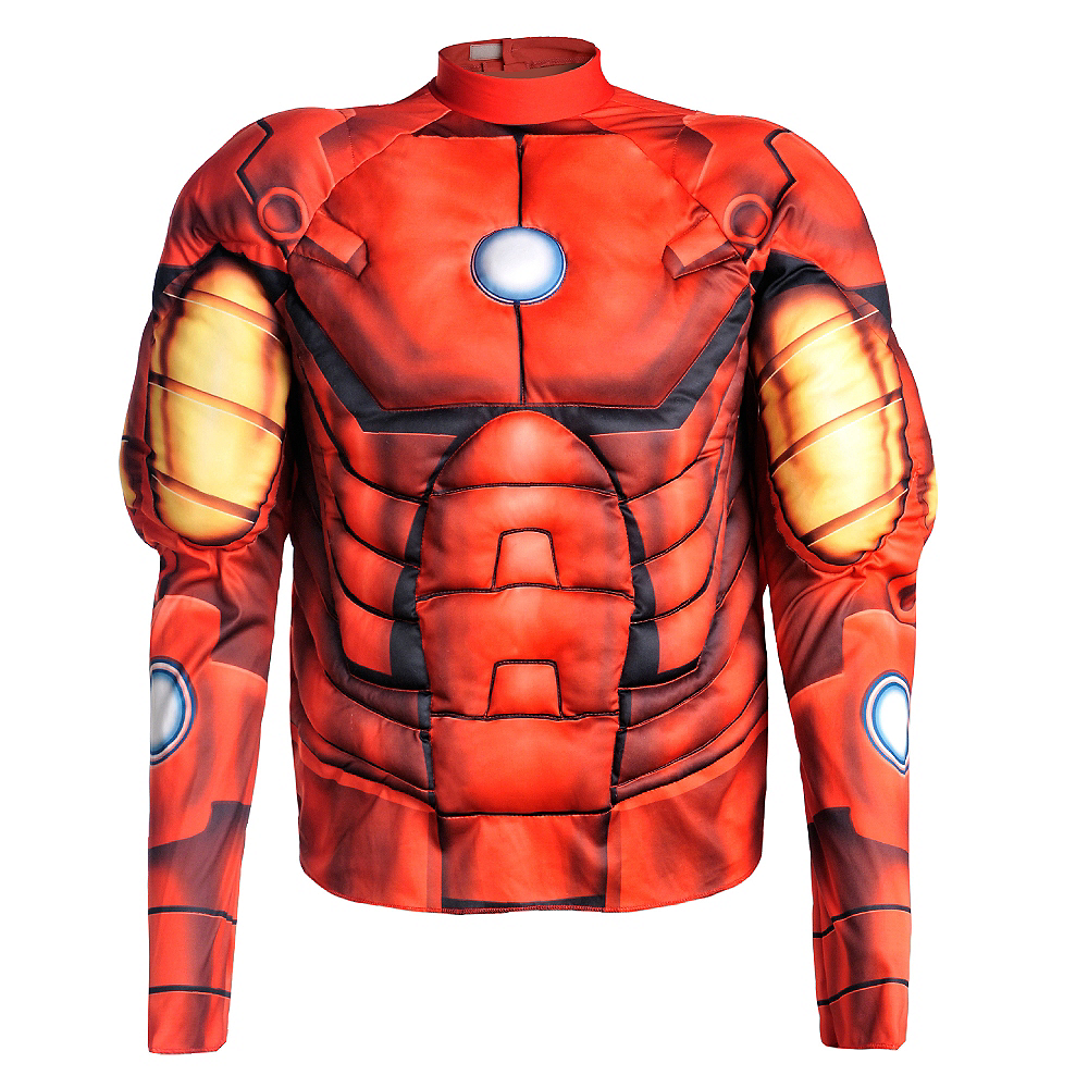 Nav Item for Iron Man Muscle Shirt Image #1