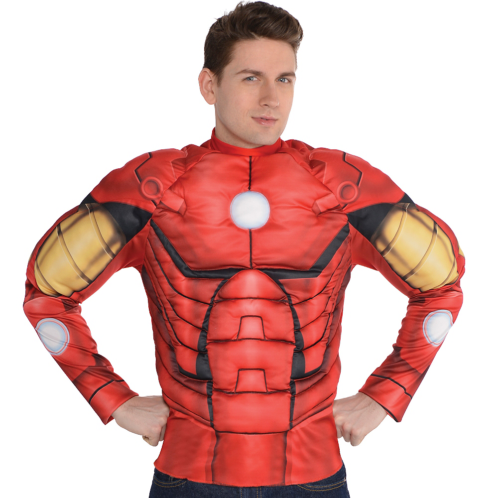 Nav Item for Iron Man Muscle Shirt Image #2