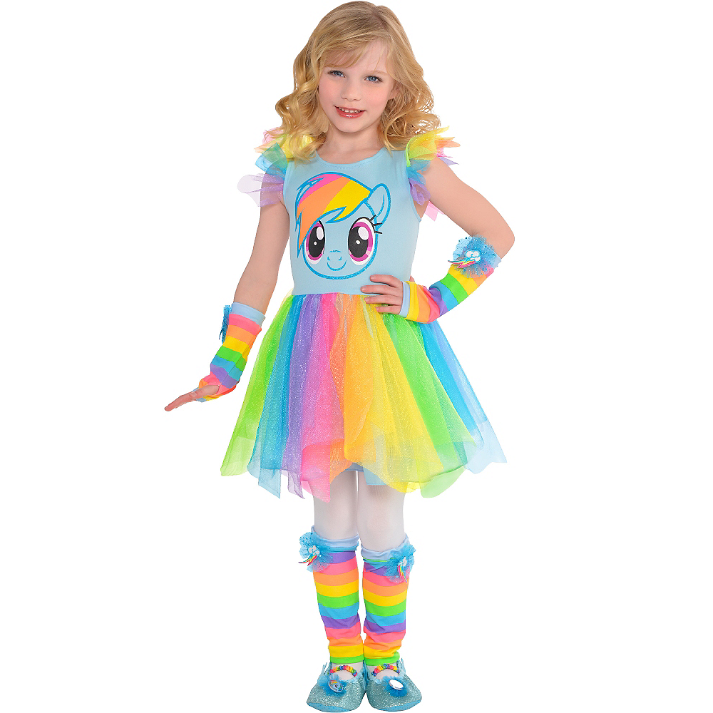 Child Rainbow Dash Tutu Dress - My Little Pony Image #1