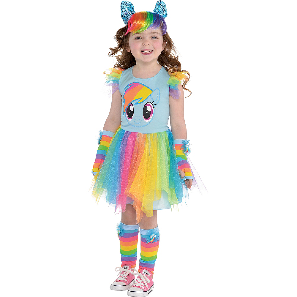 Child Rainbow Dash Tutu Dress - My Little Pony Image #2