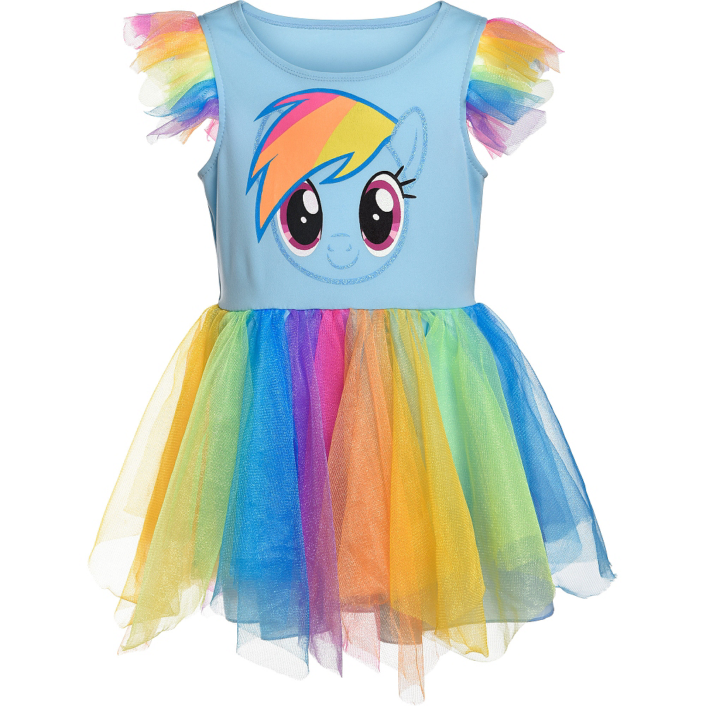 Child Rainbow Dash Tutu Dress - My Little Pony Image #3