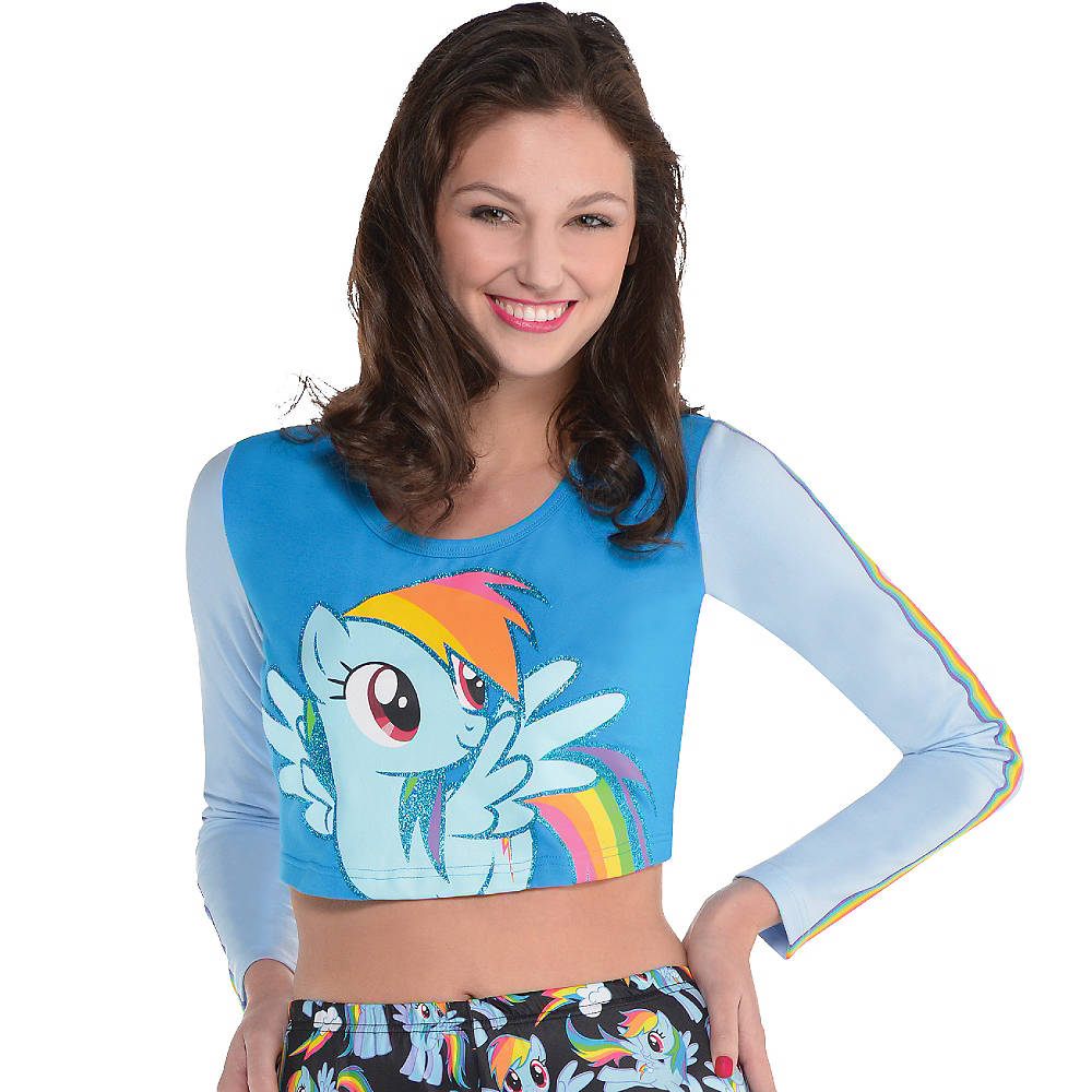 Nav Item for Rainbow Dash Crop Top - My Little Pony Image #2