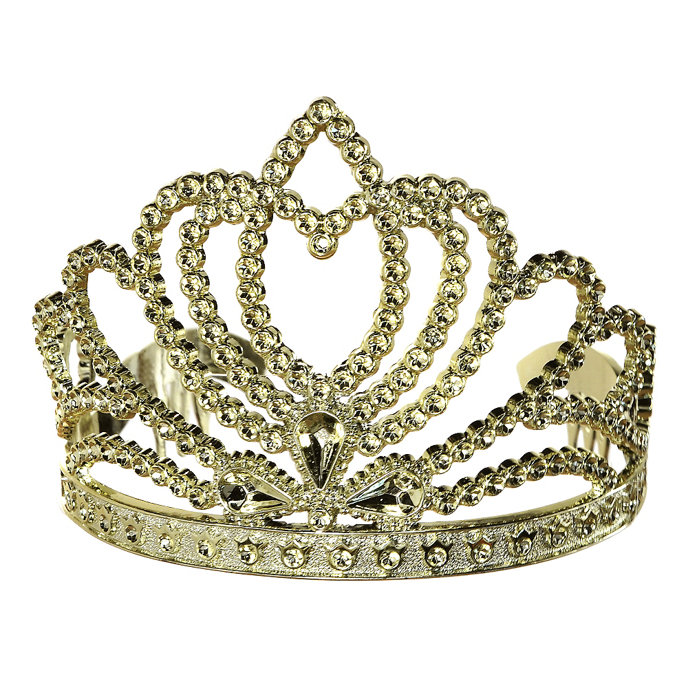 Child Gold Princess Tiara Image #1