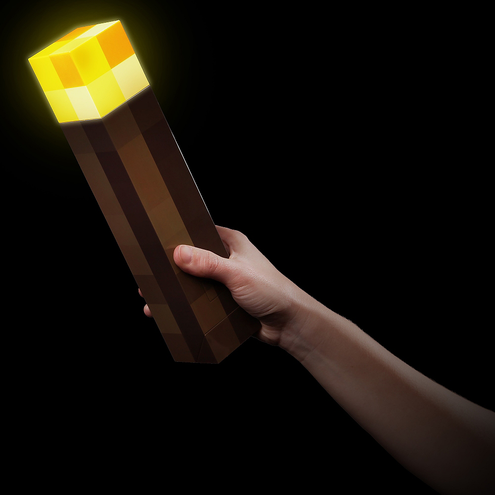 Light-Up Minecraft Torch Image #2