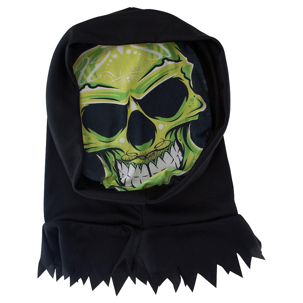 Hooded Alien Skeleton Mask Image #1
