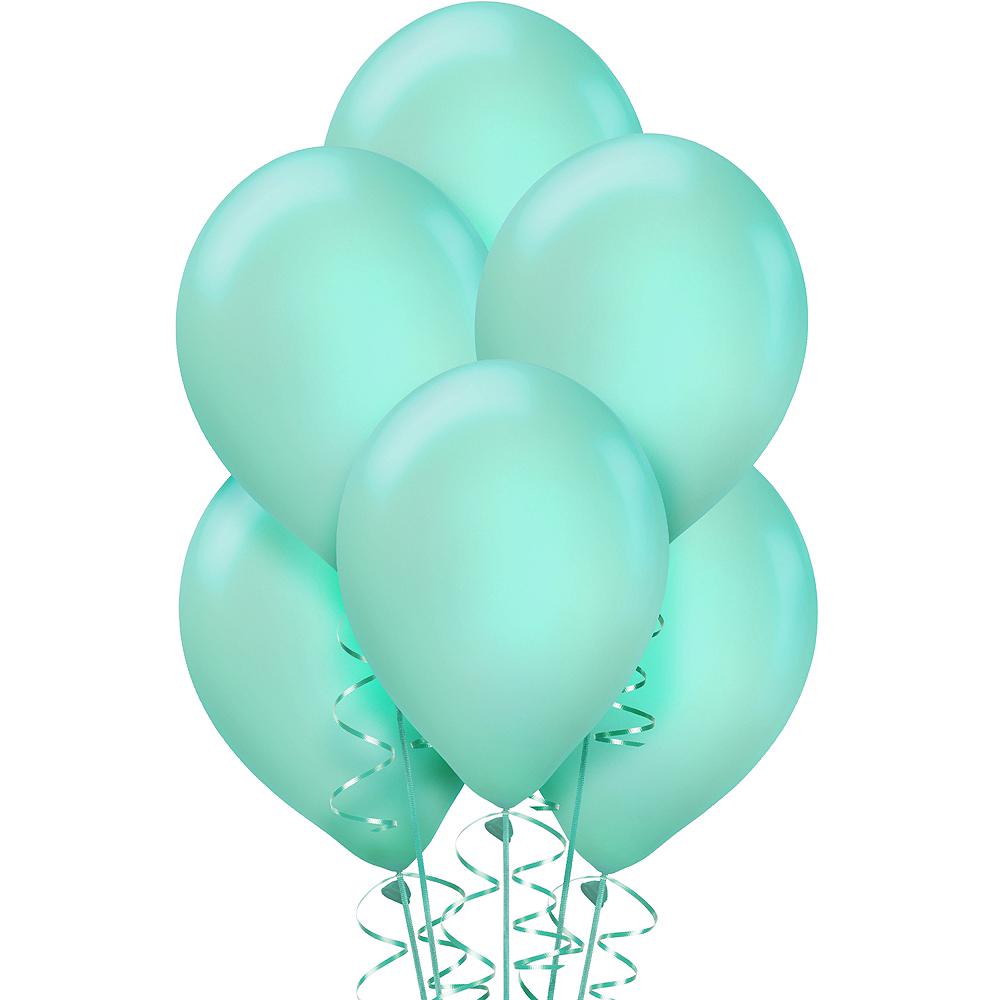 Robin's Egg Blue Balloons 15ct Image #1