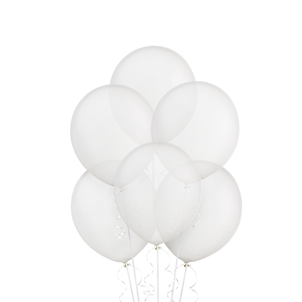 Clear Balloons 20ct, 9in Image #1