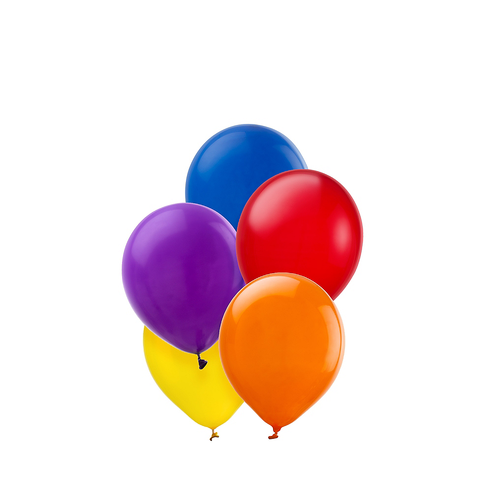 Assorted Color Mini Balloons 50ct Image #1