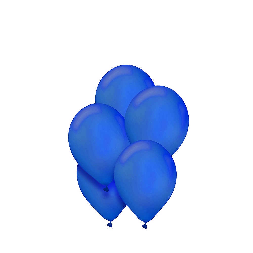 Royal Blue Mini Balloons 50ct, 5in Image #1