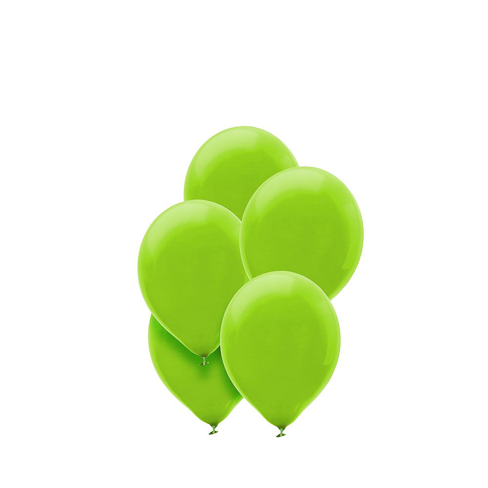 Kiwi Green Mini Balloons 50ct, 5in Image #1