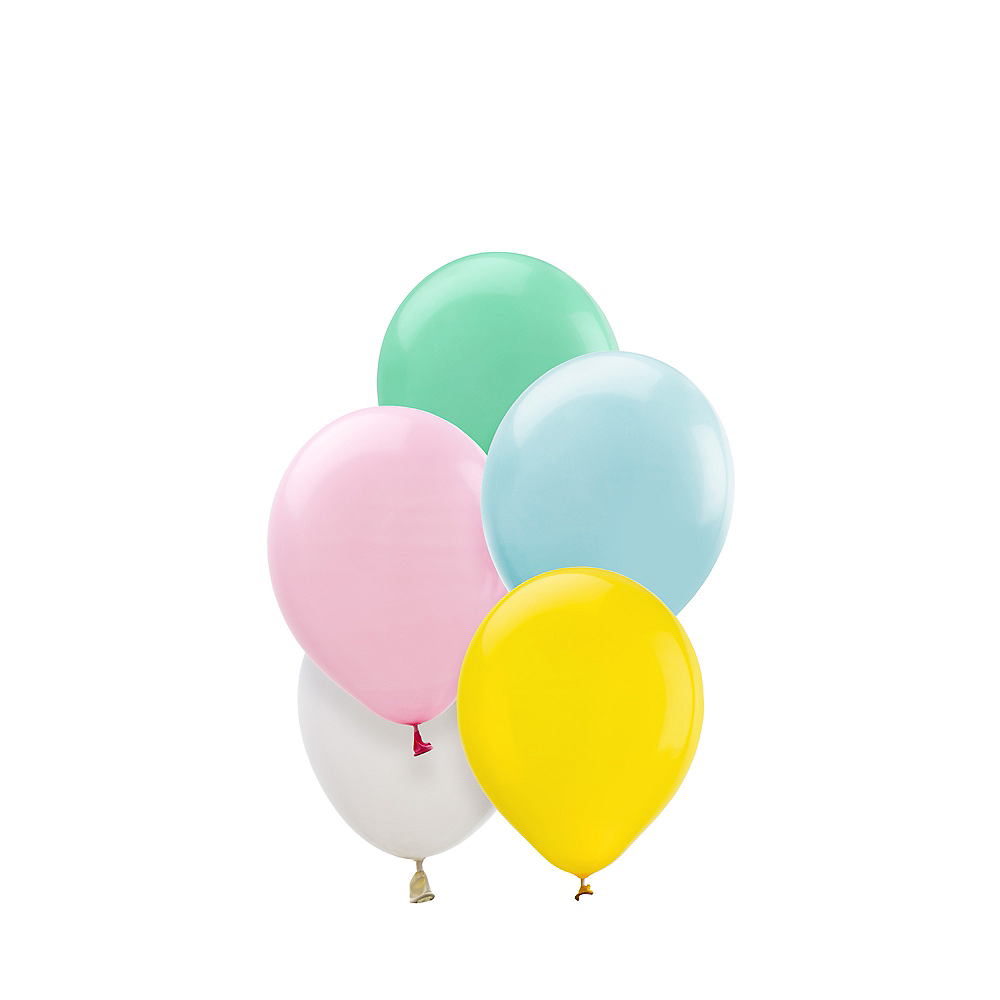 Assorted Pastel Mini Balloons 50ct, 5in Image #1