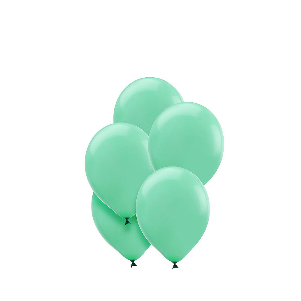 Robin's Egg Blue Mini Balloons 50ct, 5in Image #1