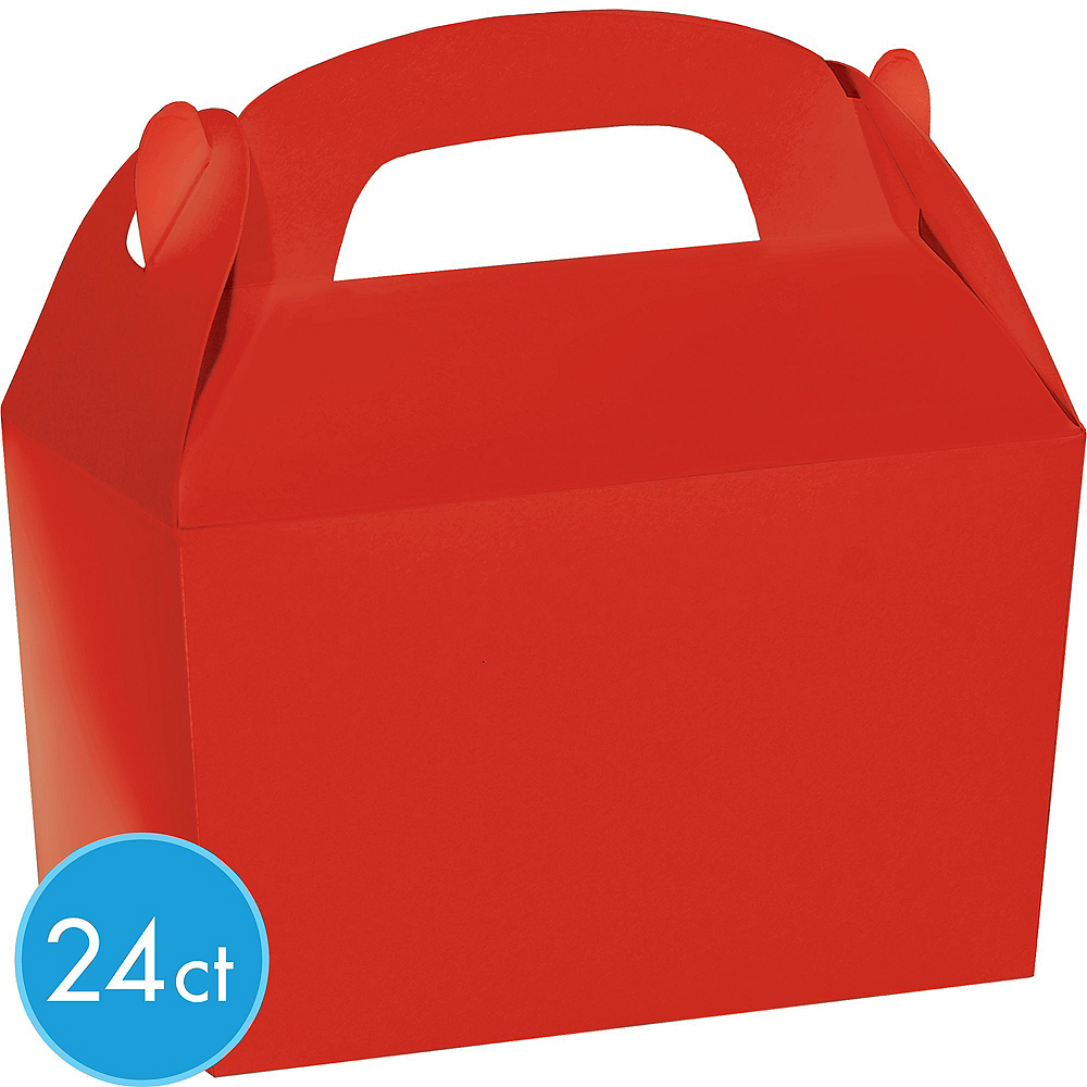 Red Gable Boxes 24ct Image #2