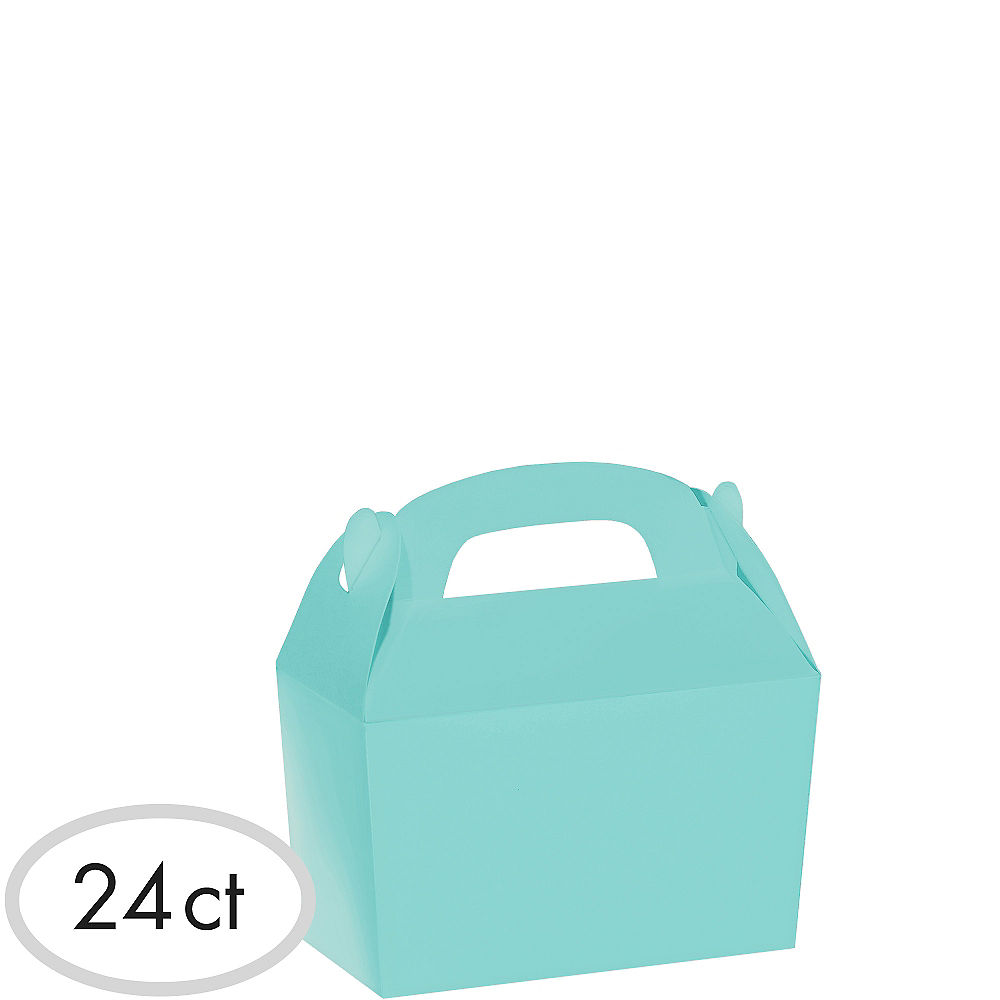 Robin's Egg Blue Gable Boxes 24ct Image #1