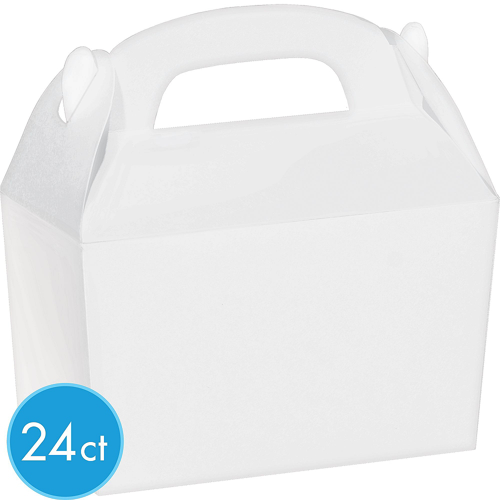 White Gable Boxes 24ct Image #2