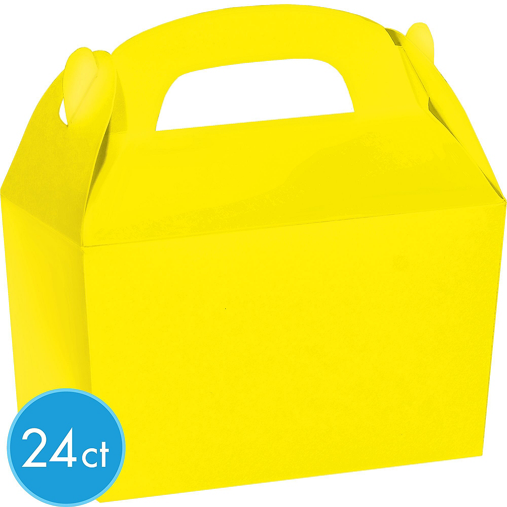 Nav Item for Sunshine Yellow Gable Boxes 24ct Image #2