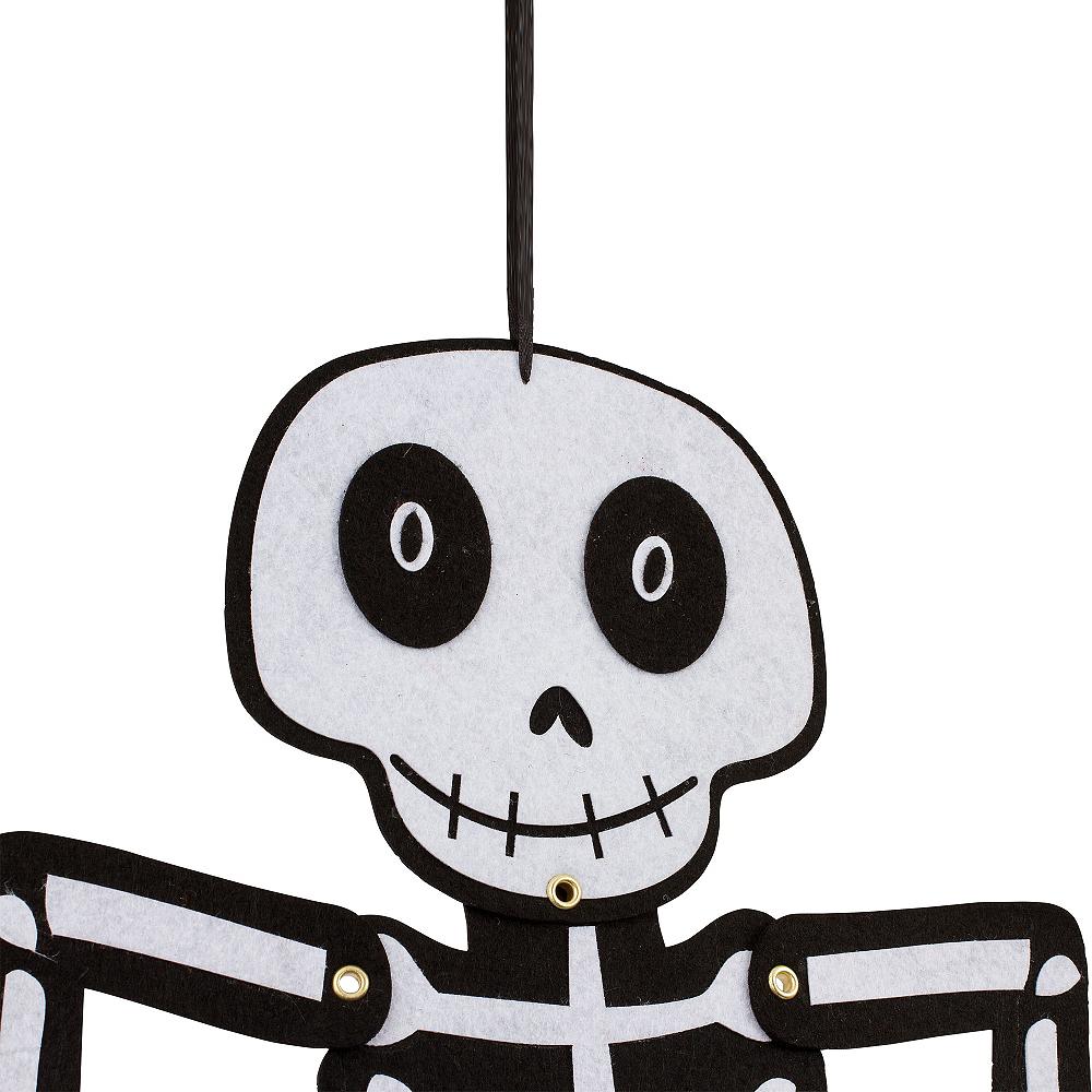 Jointed Felt Skeleton Image #2