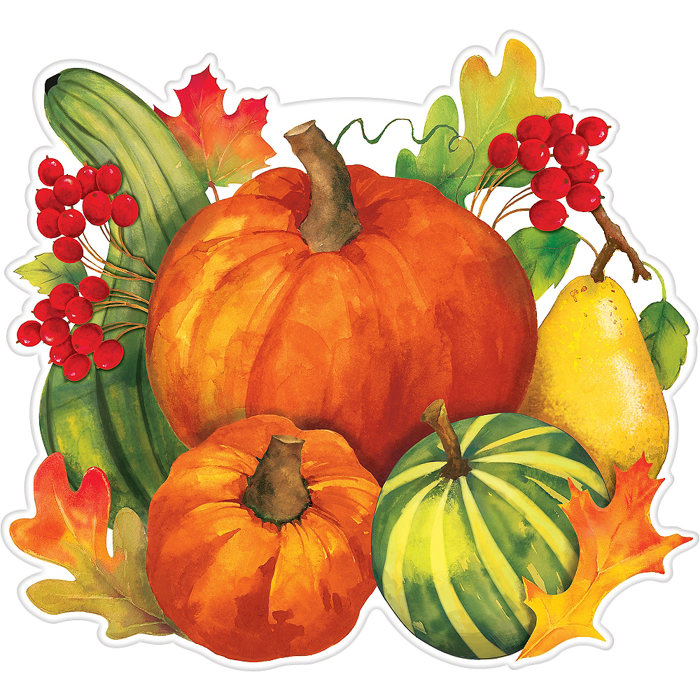 Fall Harvest Cutout Image #1