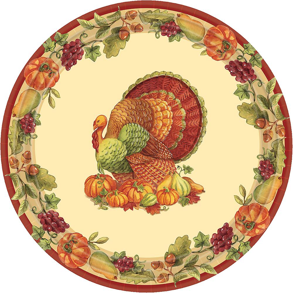 Joyful Thanksgiving Lunch Plates 60ct Image #1