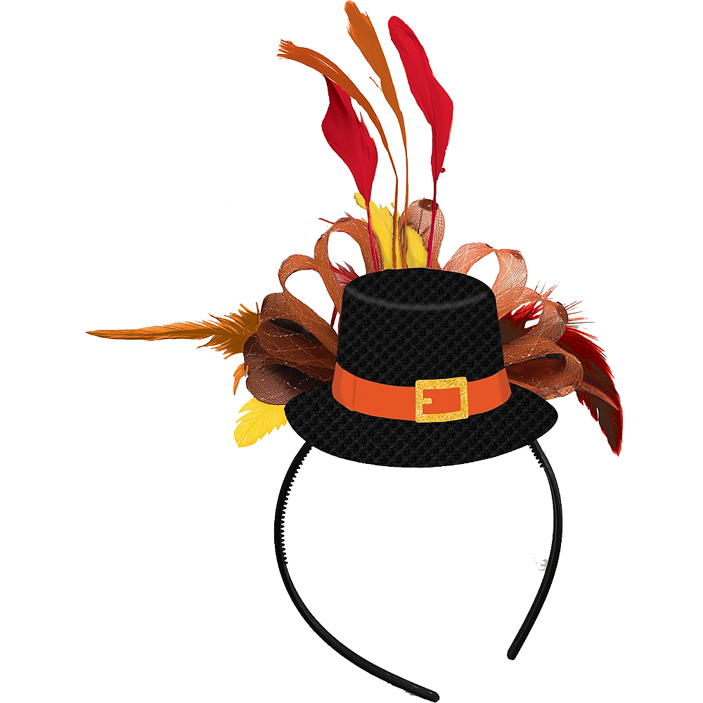 Thanksgiving Top Hat Headband Image #1