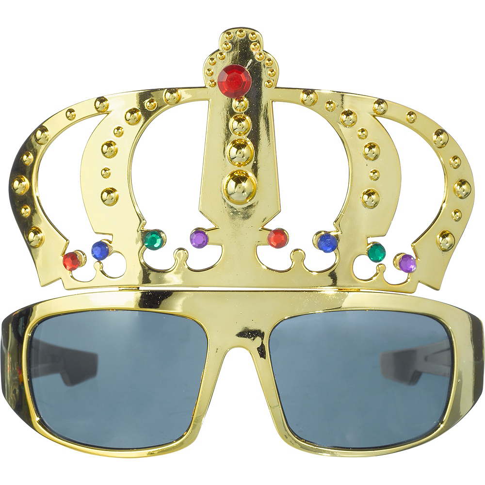 King Gold Crown Sunglasses Image #1