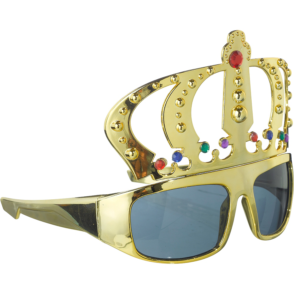 King Gold Crown Sunglasses Image #2