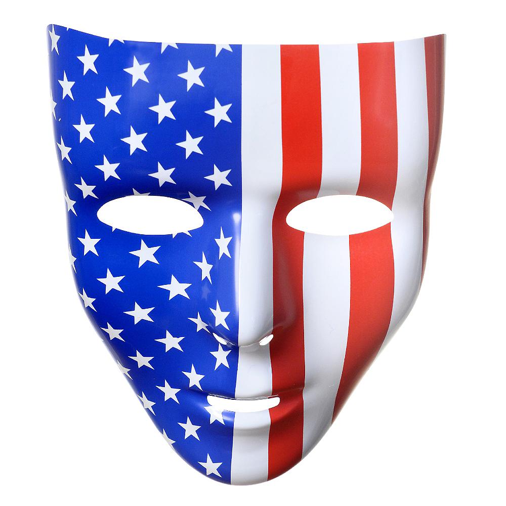 Stars & Stripes Face Mask Image #1