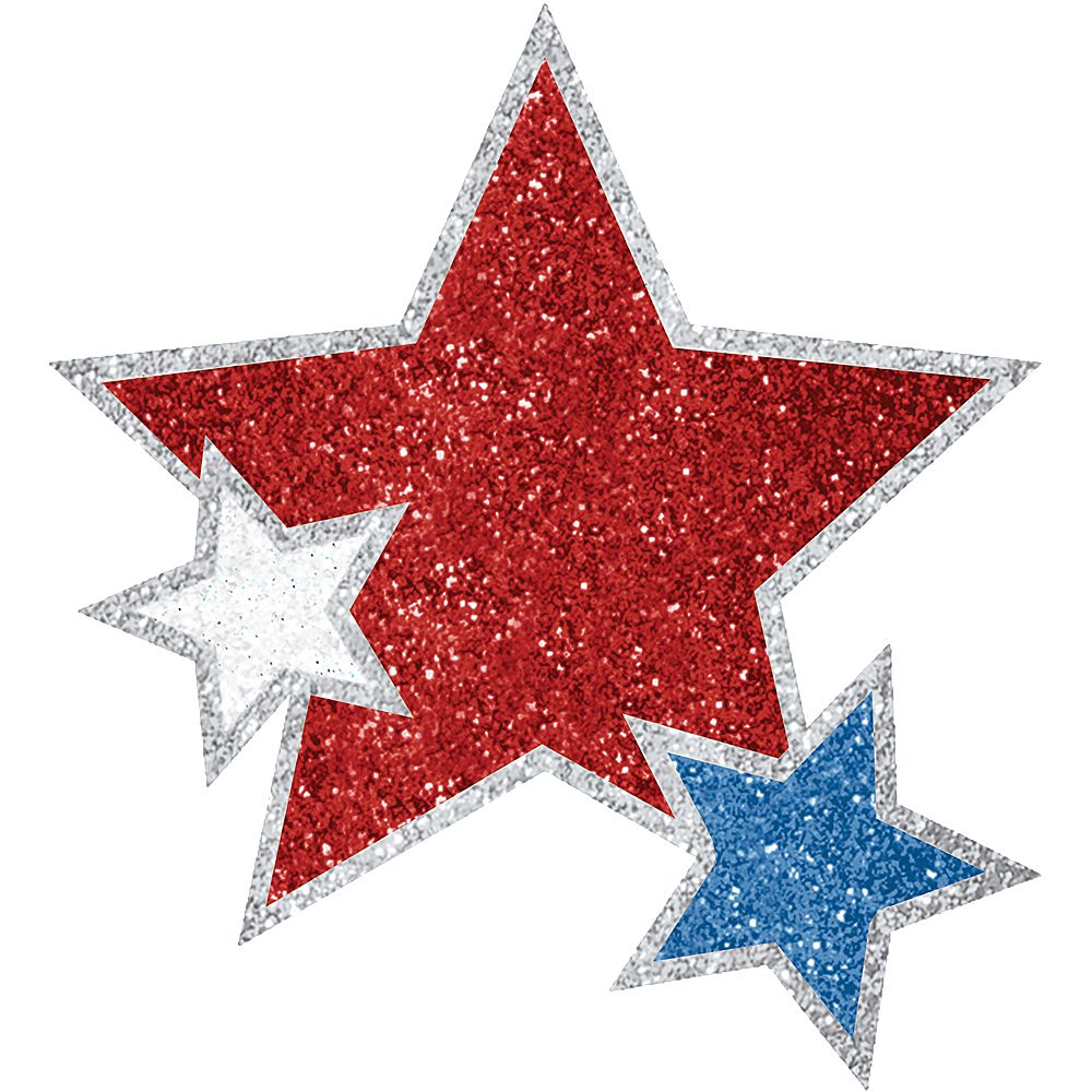 Red, White & Blue Star Body Jewelry Image #1