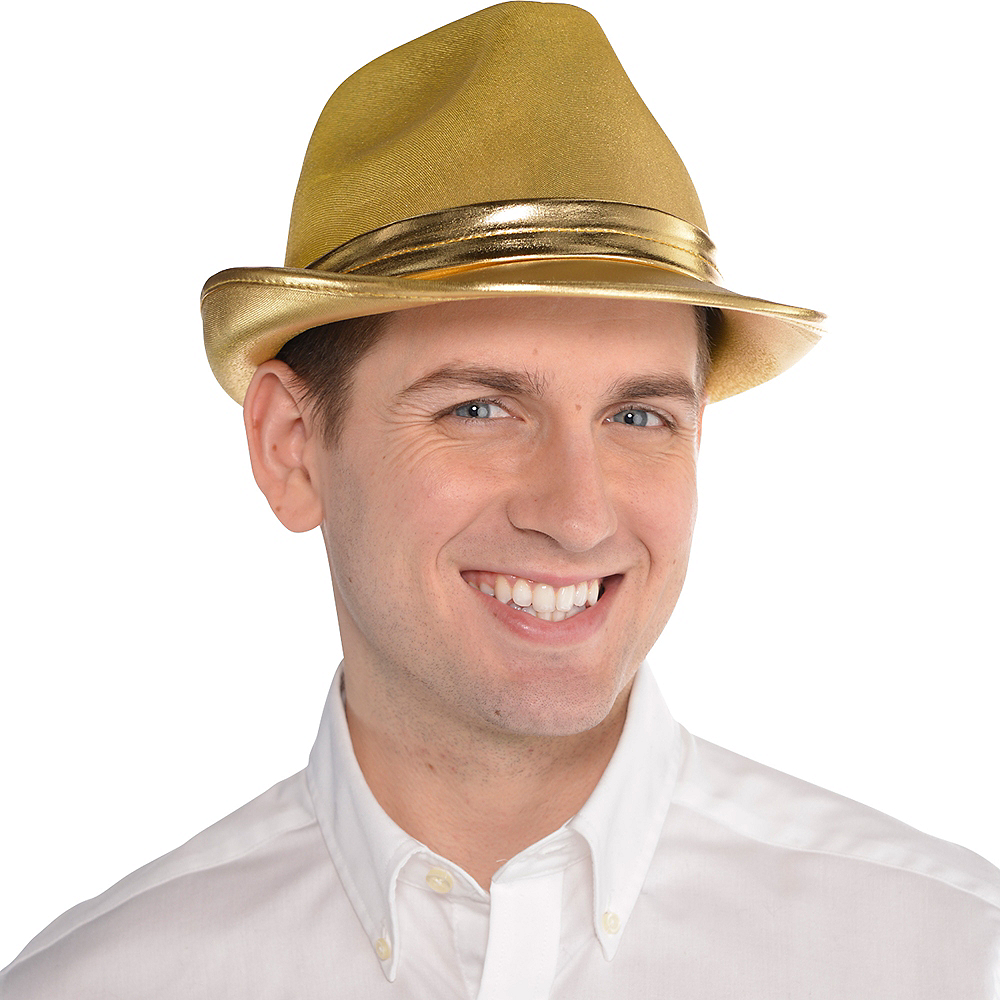 Nav Item for Gold Fedora Image #2