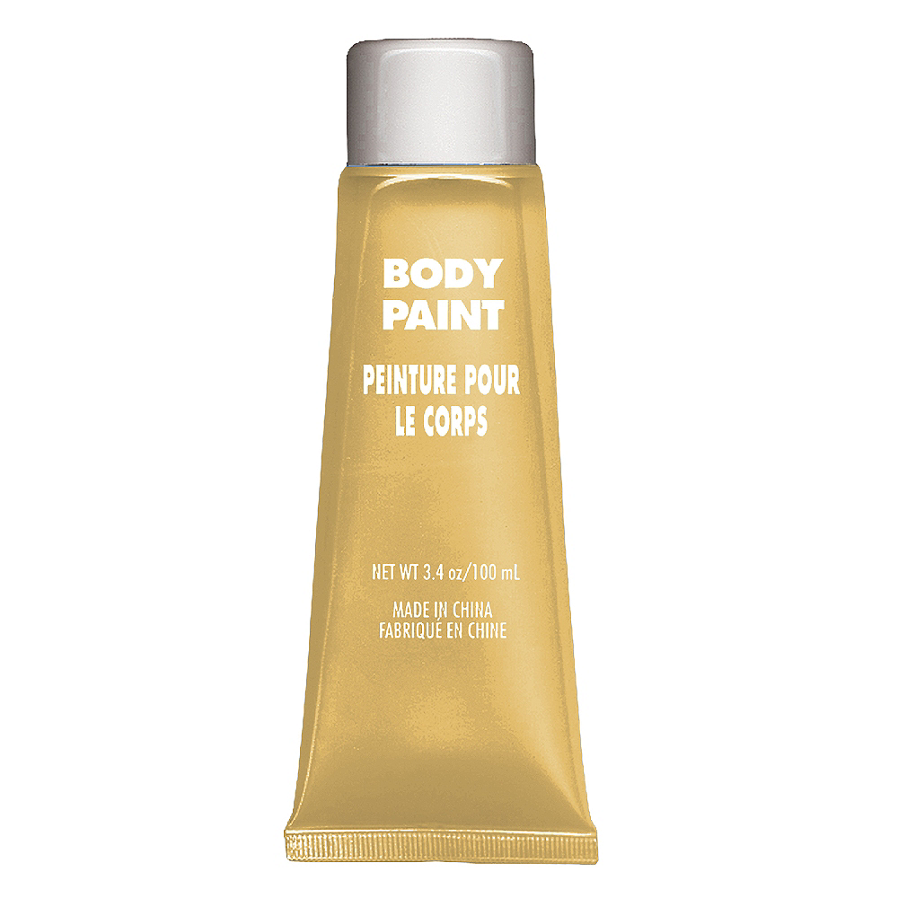 Gold Body Paint Image #1