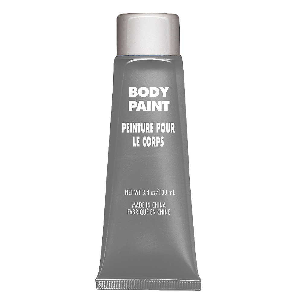 Silver Body Paint Image #1