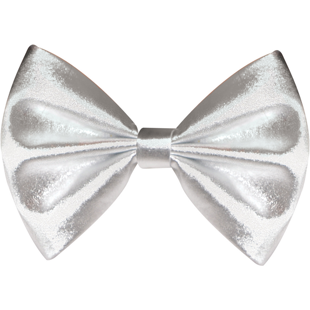Nav Item for Silver Bow Tie Image #1