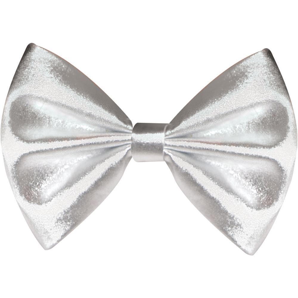 Silver Bow Tie Image #1