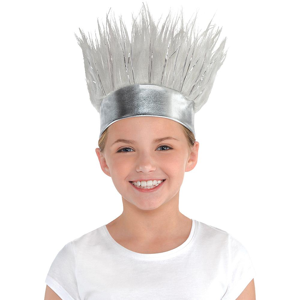 Silver Crazy Hair Headband Image #2