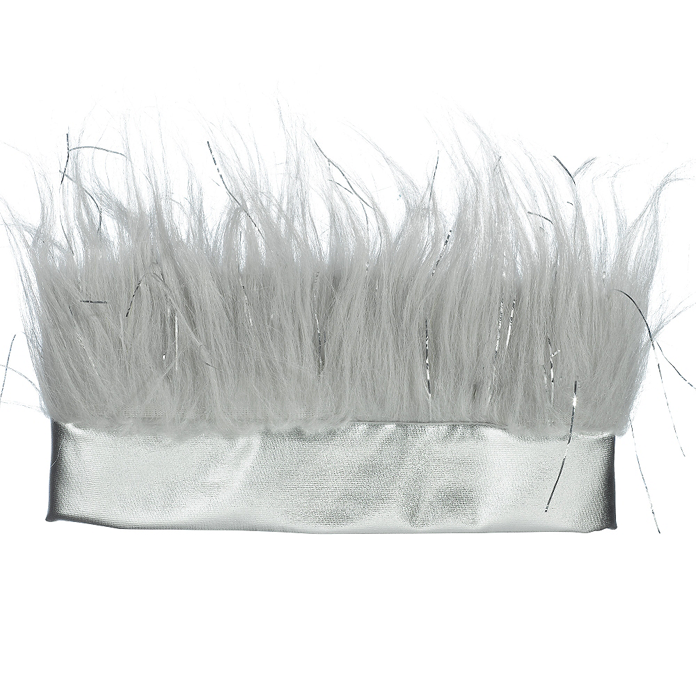 Silver Crazy Hair Headband Image #3