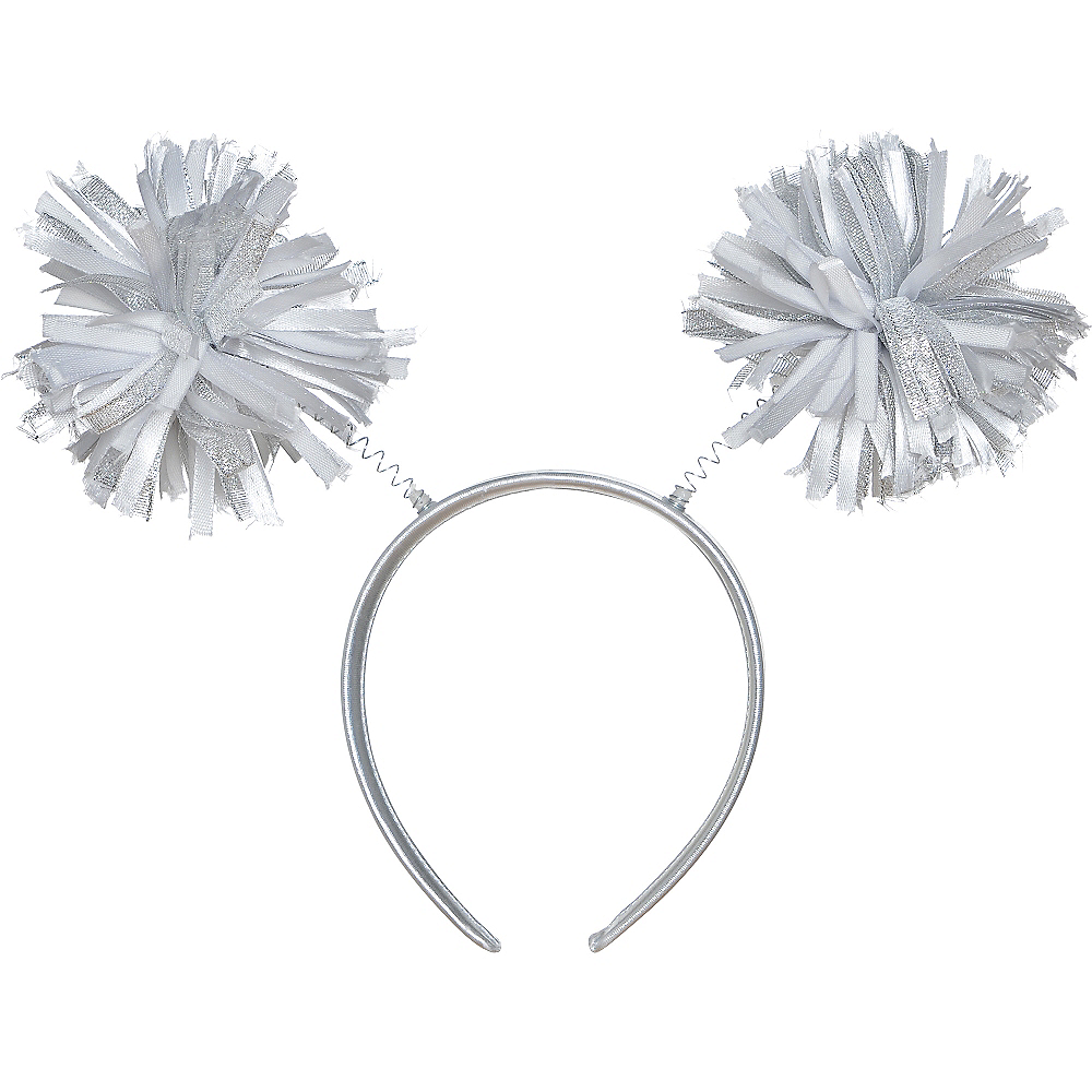 Nav Item for Silver Pom-Pom Head Bopper Image #1