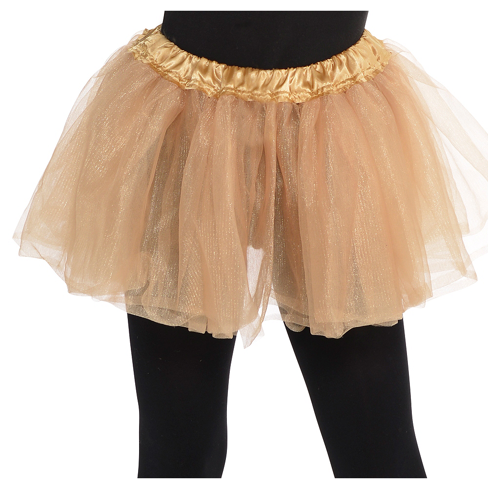 Child Gold Tutu Image #1