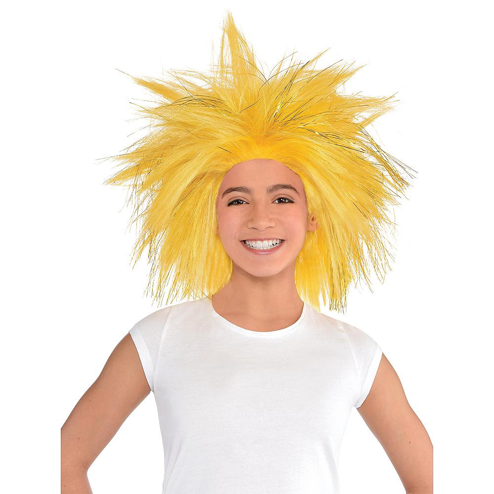 Gold Crazy Wig Image #2