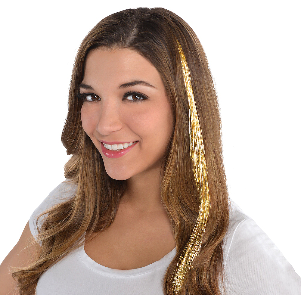Gold Hair Extension Image #1