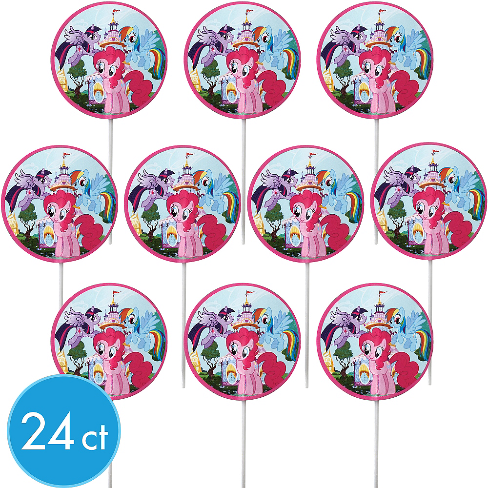 Wilton My Little Pony Cupcake Picks 24ct Image #1