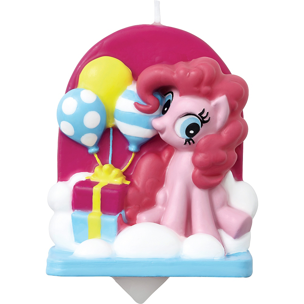 Wilton Pinkie Pie Birthday Candle - My Little Pony Image #1