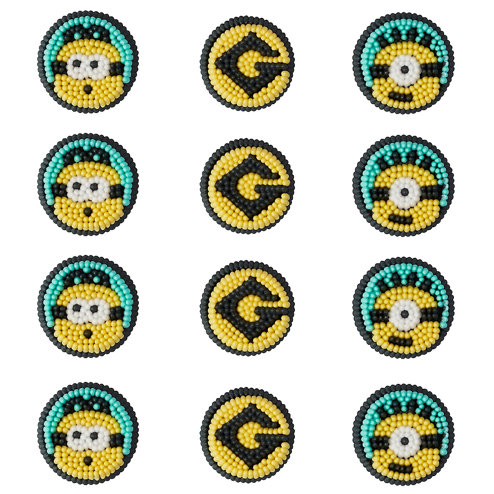 Wilton Minions Icing Decorations 12ct Despicable Me 3 Party City