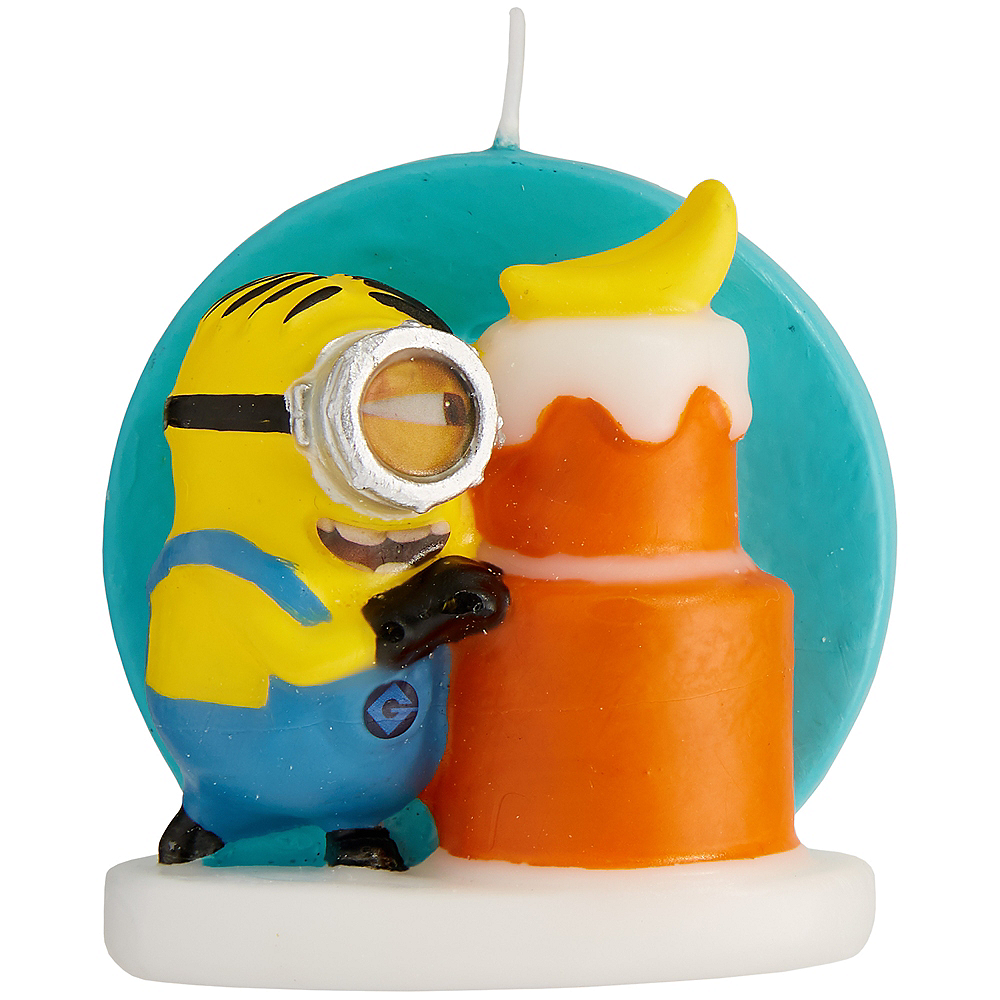 Wilton Minion Birthday Candle - Minions Movie